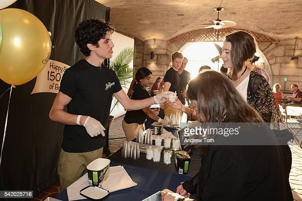 Bayers Ice Cream seen during The 7th Annual Saveur Summer Cookout at Boat Basin Cafe on June 21 2016 in New York City