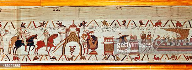 Bayeux Tapestry 1070s The tapestry which tells the story of the events leading to the Battle of Hastings in 1066 was probably commissioned by Odo...