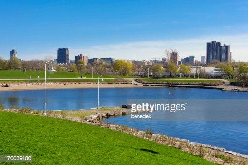 Bayfront Park in Hamilton Ontario Canada