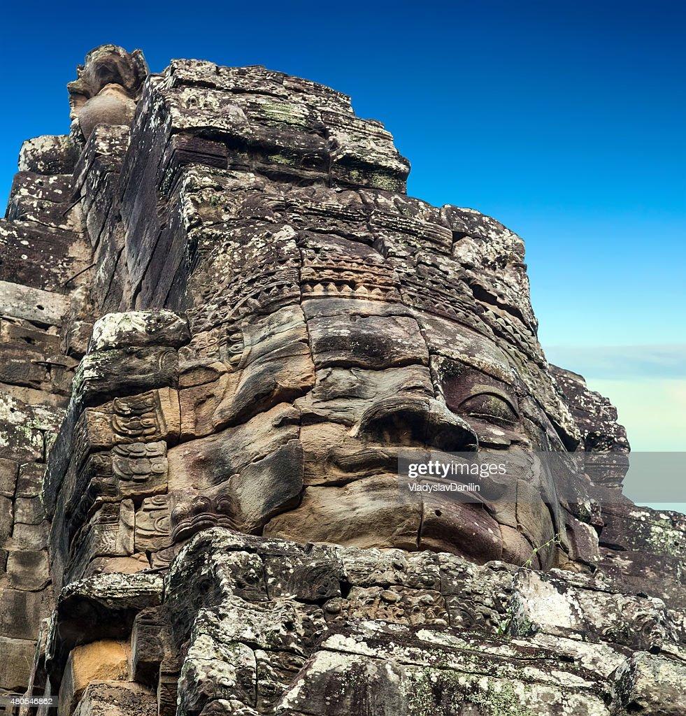 Bayon temple, Angkor, Cambodia : Stock Photo