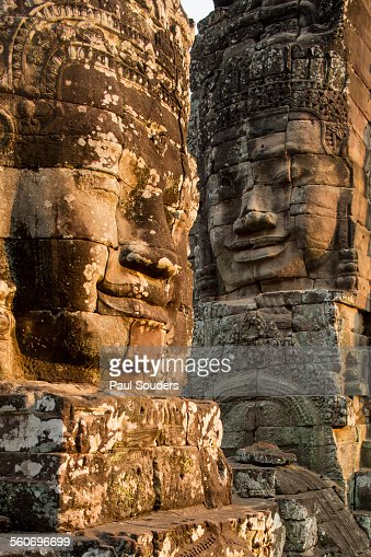Bayon temple stock photos and pictures getty images