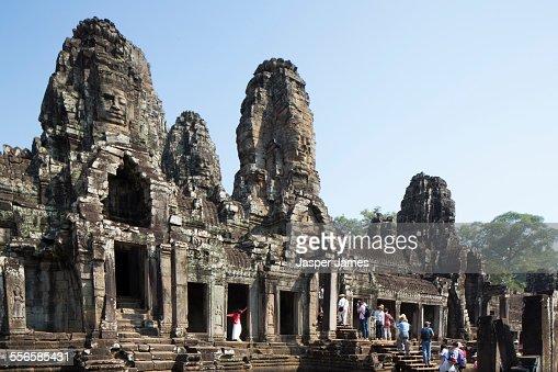 Bayon Temple at Angkor Wat