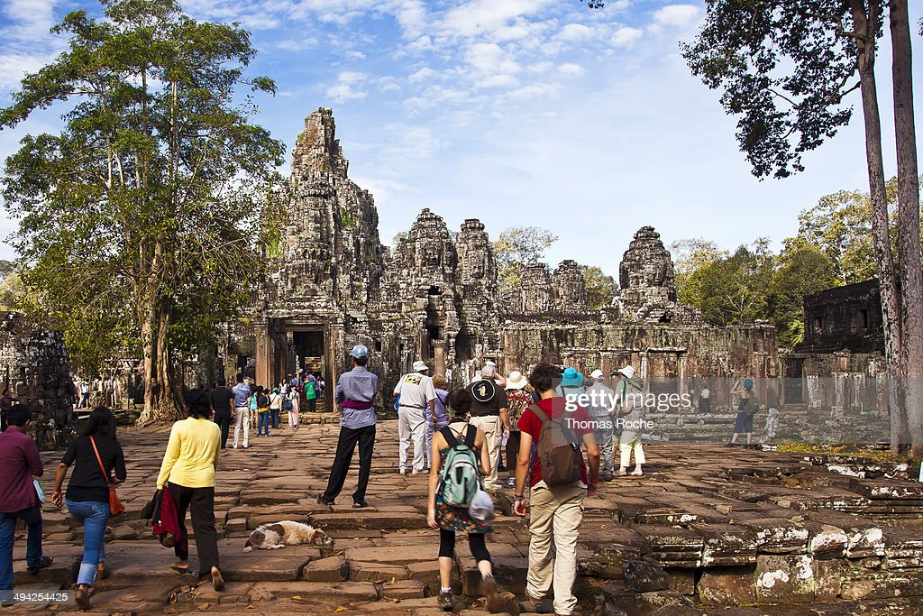 CONTENT] Bayon temple is a wellknown Khmer temple at Angkor in Cambodia built in the late 12th or early 13th century It is a Buddhist temple built in...
