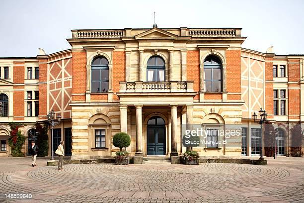 Bayreuth Festival Theatre.