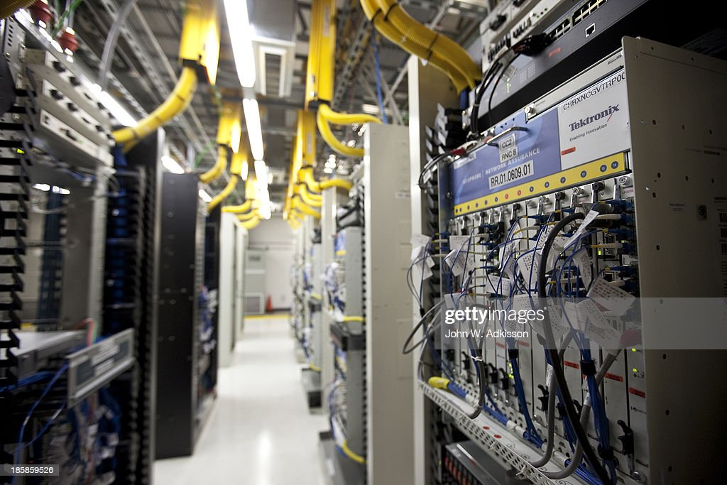 Bays of 4G equipment work at an AT&T mobile telephone switching office on October 25, 2012 in Charlotte, North Carolina. The center handles wireless AT&T traffic from the western part of North Carolina.