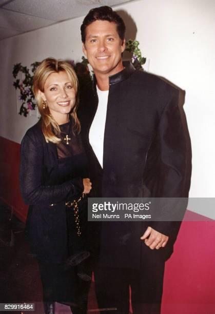 Baywatch star David Hasselhoff and his wife Pamela