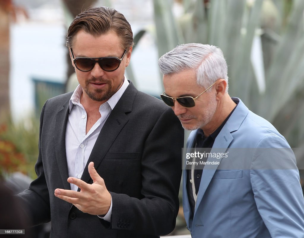 Baz Lhurmann and <a gi-track='captionPersonalityLinkClicked' href=/galleries/search?phrase=Leonardo+DiCaprio&family=editorial&specificpeople=201635 ng-click='$event.stopPropagation()'>Leonardo DiCaprio</a> attend day 1 of the 66th Annual Cannes Film Festival on May 15, 2013 in Cannes, France.