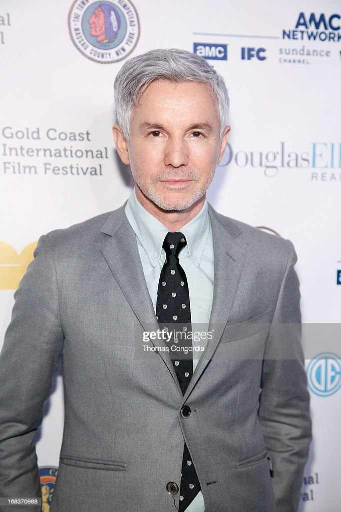 <a gi-track='captionPersonalityLinkClicked' href=/galleries/search?phrase=Baz+Luhrmann&family=editorial&specificpeople=209230 ng-click='$event.stopPropagation()'>Baz Luhrmann</a> attends <a gi-track='captionPersonalityLinkClicked' href=/galleries/search?phrase=Baz+Luhrmann&family=editorial&specificpeople=209230 ng-click='$event.stopPropagation()'>Baz Luhrmann</a> & Gold Coast Int'l Film Festival host 'The Great Gatsby' on May 8, 2013 in Port Washington, New York.