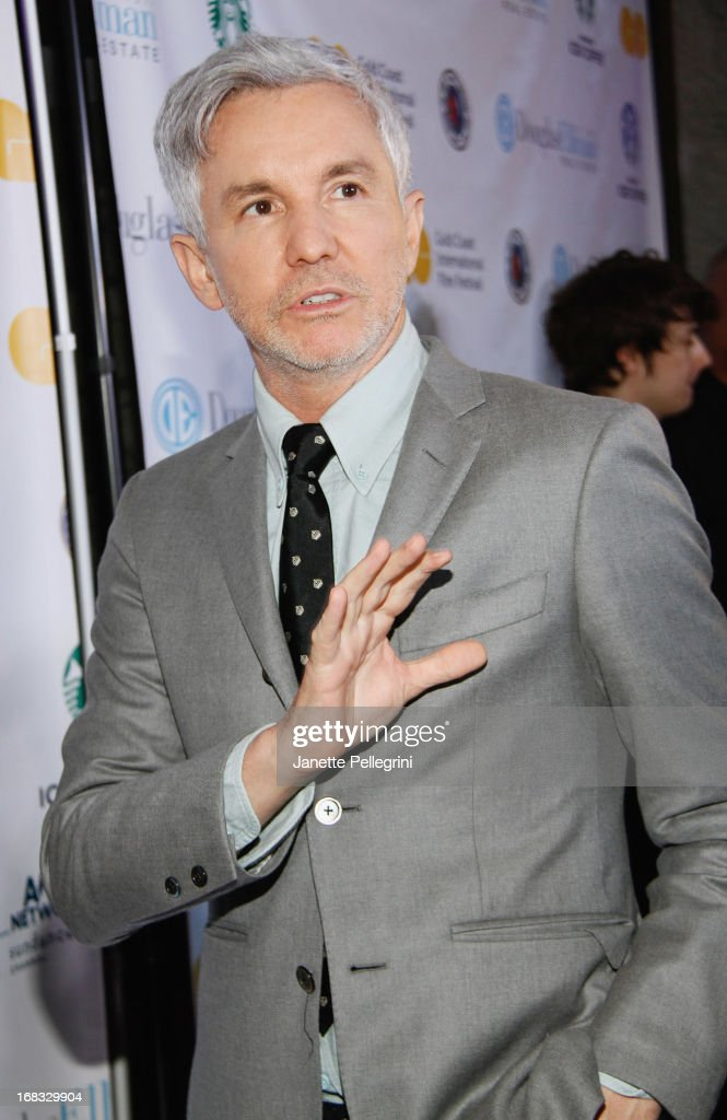 <a gi-track='captionPersonalityLinkClicked' href=/galleries/search?phrase=Baz+Luhrmann&family=editorial&specificpeople=209230 ng-click='$event.stopPropagation()'>Baz Luhrmann</a> attends Gold Coast International Film Festival Screening Of 'The Great Gatsby' at Soundview Cinemas on May 8, 2013 in Port Washington.