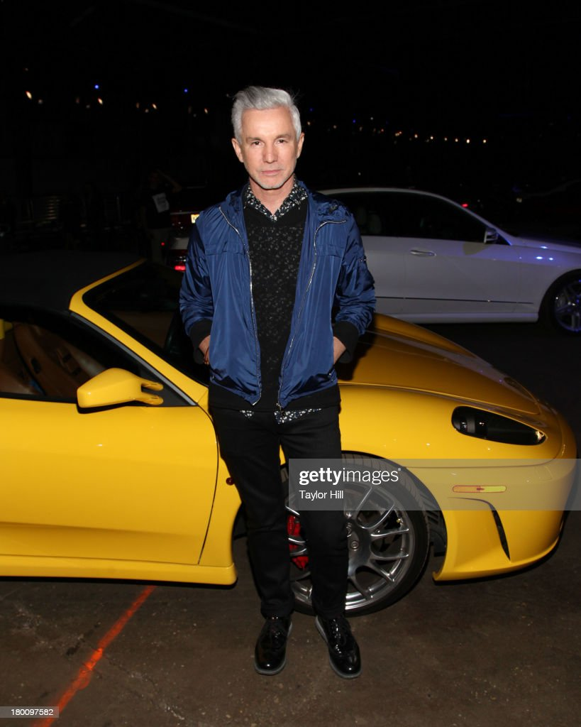 <a gi-track='captionPersonalityLinkClicked' href=/galleries/search?phrase=Baz+Luhrmann&family=editorial&specificpeople=209230 ng-click='$event.stopPropagation()'>Baz Luhrmann</a> attends the Opening Ceremony Spring 2014 fashion show at on September 8, 2013 in New York City.
