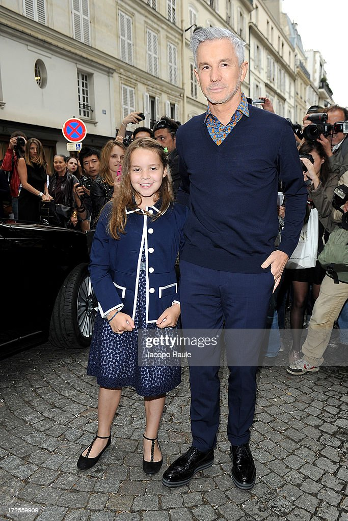 <a gi-track='captionPersonalityLinkClicked' href=/galleries/search?phrase=Baz+Luhrmann&family=editorial&specificpeople=209230 ng-click='$event.stopPropagation()'>Baz Luhrmann</a> attends the Valentino show as part of Paris Fashion Week Haute-Couture Fall/Winter 2013-2014 at Hotel Salomon de Rothschild on July 3, 2013 in Paris, France.