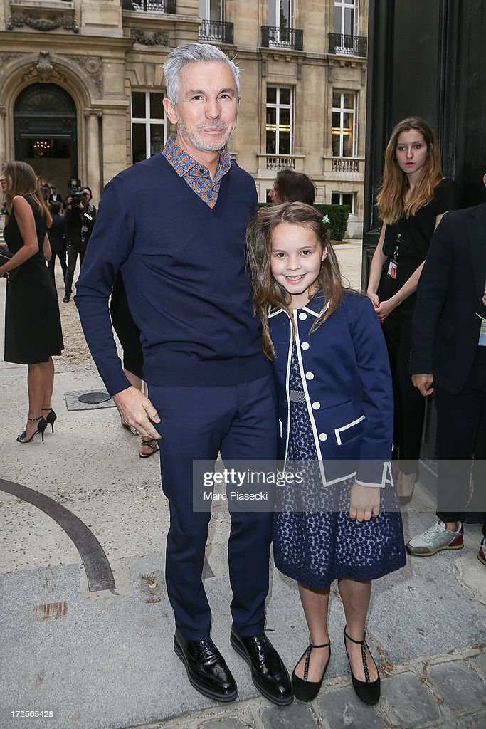 Baz Luhrmann attends the Valentino show as part of Paris Fashion Week Haute-Couture Fall/Winter 2013-2014 at Hotel Salomon de Rothschild on July 3, 2013 in Paris, France.