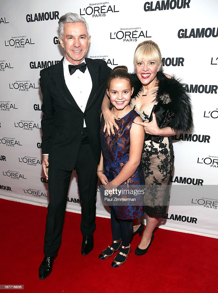 <a gi-track='captionPersonalityLinkClicked' href=/galleries/search?phrase=Baz+Luhrmann&family=editorial&specificpeople=209230 ng-click='$event.stopPropagation()'>Baz Luhrmann</a>, Lillian Amanda Luhrmann and <a gi-track='captionPersonalityLinkClicked' href=/galleries/search?phrase=Catherine+Martin&family=editorial&specificpeople=226991 ng-click='$event.stopPropagation()'>Catherine Martin</a> attend the Glamour Magazine 23rd annual Women Of The Year gala on November 11, 2013 in New York, United States.
