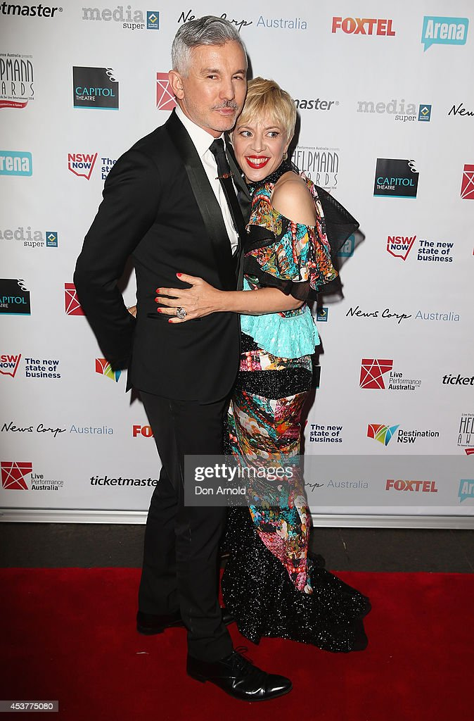 Baz Lurhmann and <a gi-track='captionPersonalityLinkClicked' href=/galleries/search?phrase=Catherine+Martin&family=editorial&specificpeople=226991 ng-click='$event.stopPropagation()'>Catherine Martin</a> arrive at the 2014 Helpmann Awards at the Capitol Theatre on August 18, 2014 in Sydney, Australia.