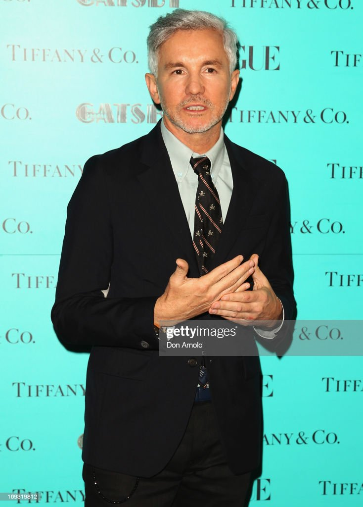 Baz Lurhmann arrives at the Tiffany & Co Great Gatsby dinner at Rockpool on May 23, 2013 in Sydney, Australia.