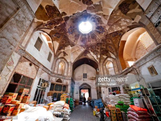 Bazaar of Kashan, Iran - April 29, 2017