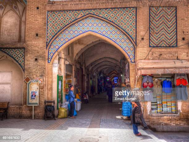 Bazaar of Kashan, Kashan, Iran - April 29, 2017