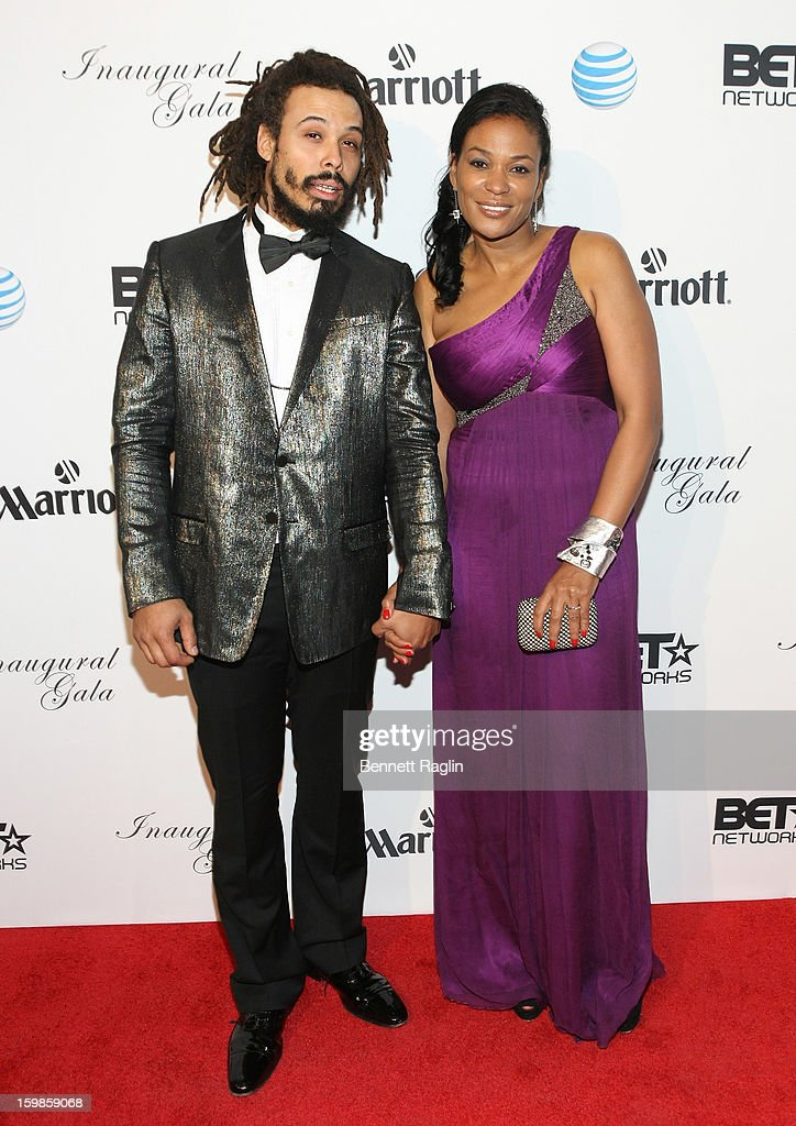 Bazaar Royale and Beverly Bond attend the Inaugural Ball hosted by BET Networks at Smithsonian American Art Museum & National Portrait Gallery on January 21, 2013 in Washington, DC.