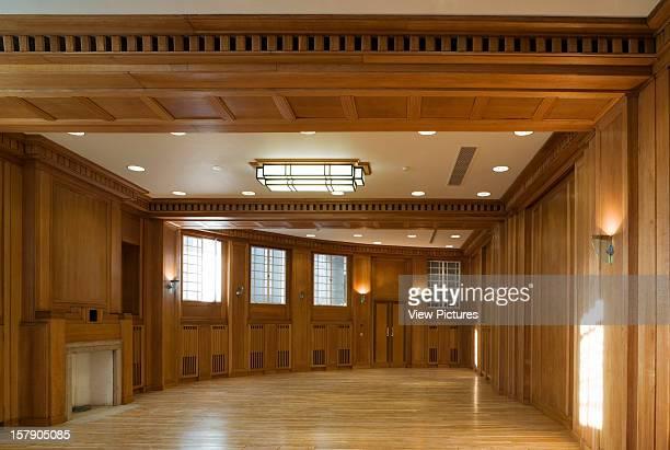 Bbc Broadcasting House London United Kingdom Architect George Val Meyer Maccormac Jamieson Prichard Bbc Broadcasting House Boardroom Timber