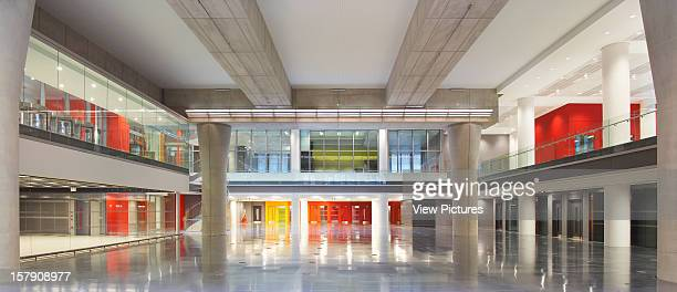 Sr/Sheppard Robson London Large Colourful Interior SpaceOffice Architect