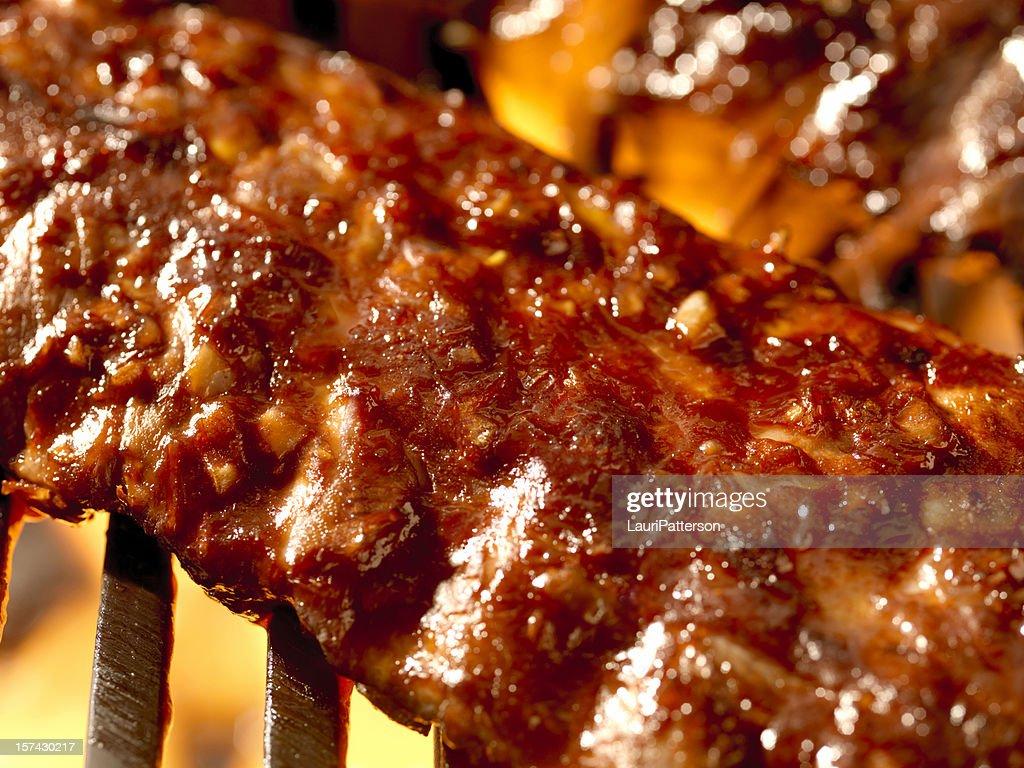 BBq Pork Ribs : Stock Photo