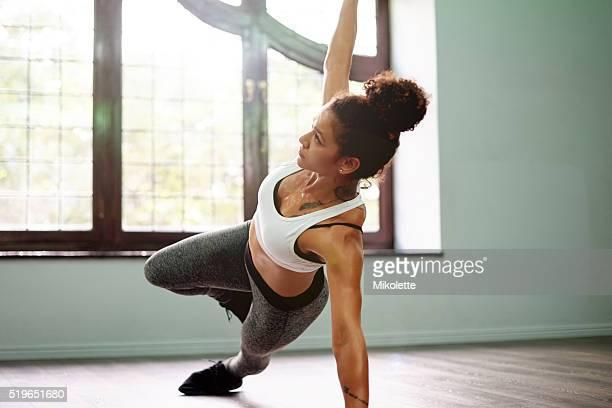 Sie sich etwas für Ihren Körper, Yoga