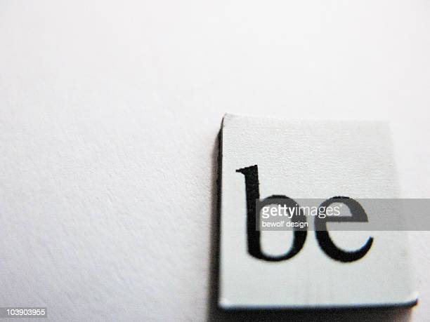 be letter on an magnetic plate