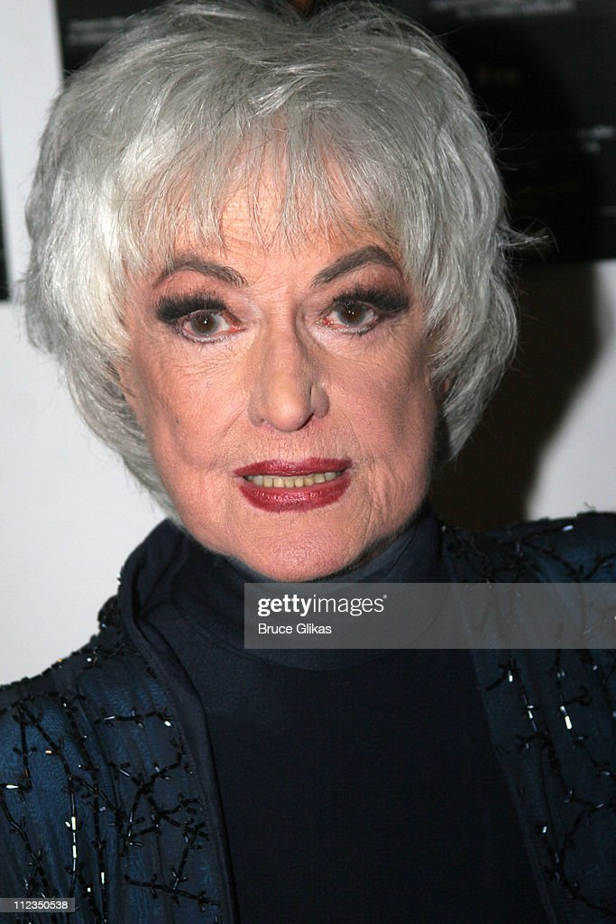 Bea Arthur during Bea Arthur Back on Broadway (& 95th Street): A Benefit for The Ali Forney Center at Symphony Space in New York City, New York, United States.