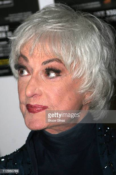 Bea Arthur during Bea Arthur Back on Broadway A Benefit for The Ali Forney Center at Symphony Space in New York City New York United States