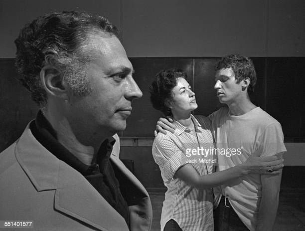 Bea Arthur in the musical 'A Mother's Kisses' with Bill Callaway and Carl Ballantine 1968