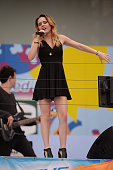 Bea Miller performs during Arthur Ashe Kids Day 2015 at the US Open at USTA Billie Jean King National Tennis Center on August 29 2015 in New York City