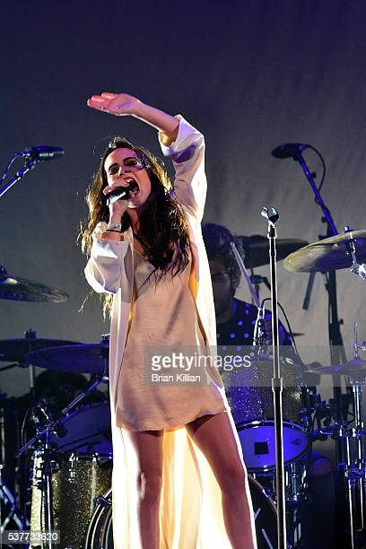 Bea Miller performs during Selena Gomez in concert at The Prudential Center on June 2 2016 in Newark New Jersey