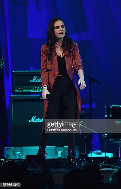 Bea Miller performs in concert at Barclays Center on June 1 2016 in New York City