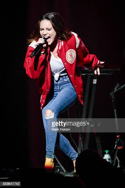 Bea Miller performs live during the Selena Gomez Revival Tour at the Canadian Tire Centre on May 22 2016 in Ottawa Canada