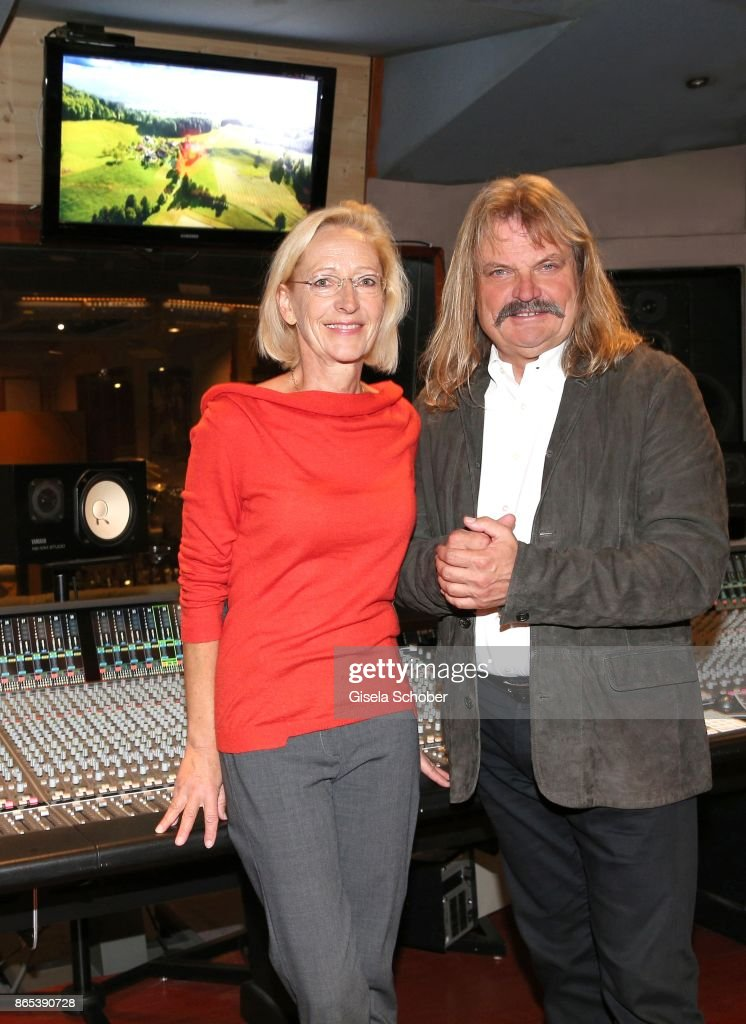 "Leslie Mandoki And Bea Schmidt - Studio Meeting For ""Sturm der Liebe"" Theme Song"