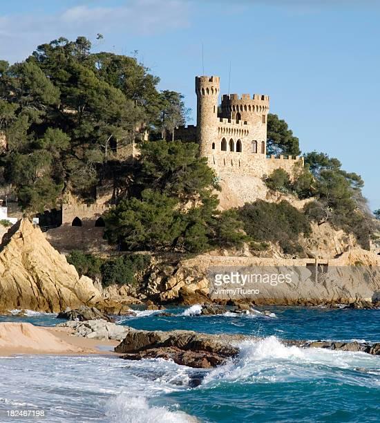 Playa y castle