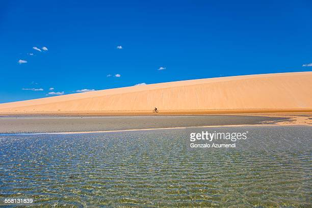Beach and dune in Jericacoara National Park