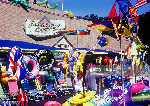 Beach and souvenir shop... Pictures | Getty Images