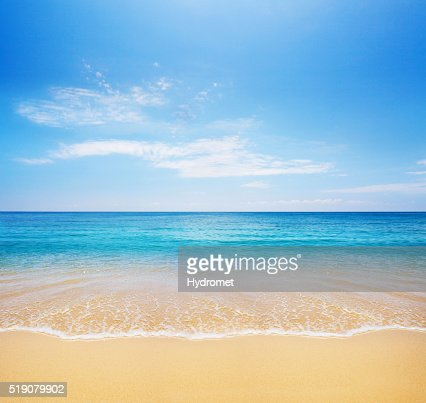 beach and tropical sea : Stock Photo