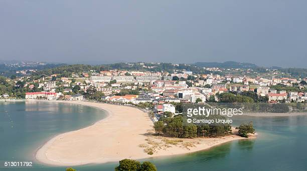 Beach and village of Santa Cristina