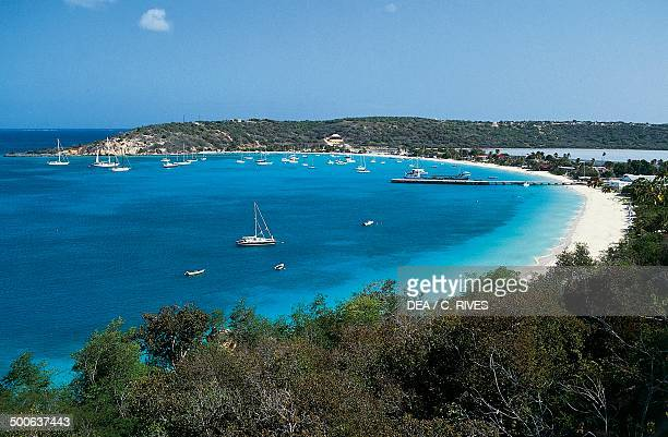 Beach Anguilla Lesser Antilles British Overseas Territory United Kingdom