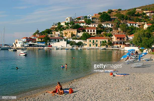 Beach Assos Kefalonia Greece