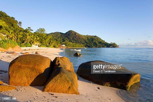 Beach at Anse La Blague.