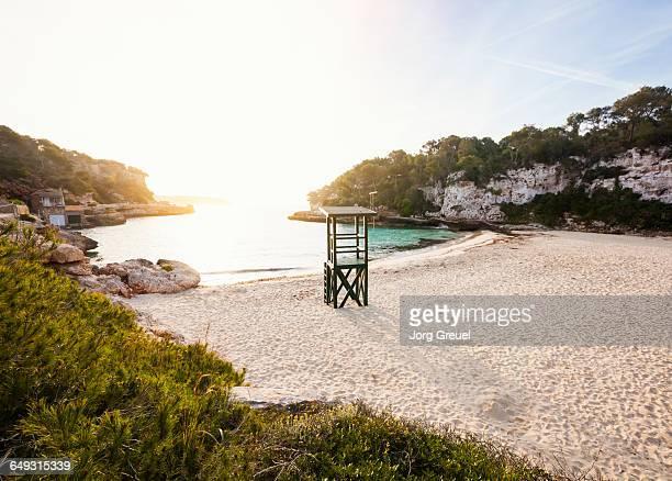 Beach at Cala Llombards (sunrise)