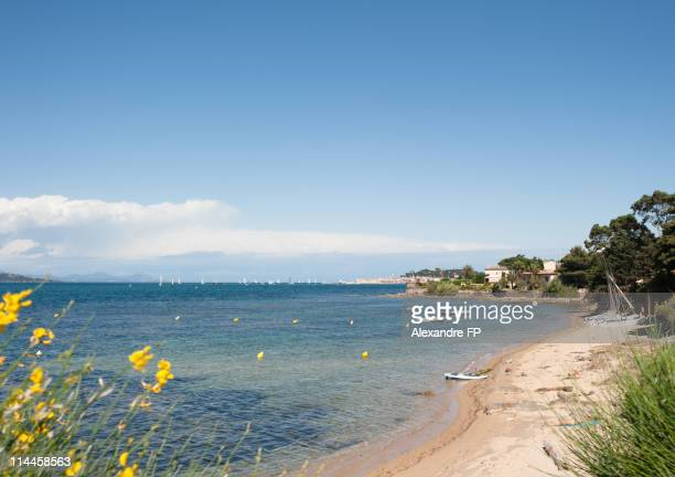 Beach at Golfe de St, Tropez
