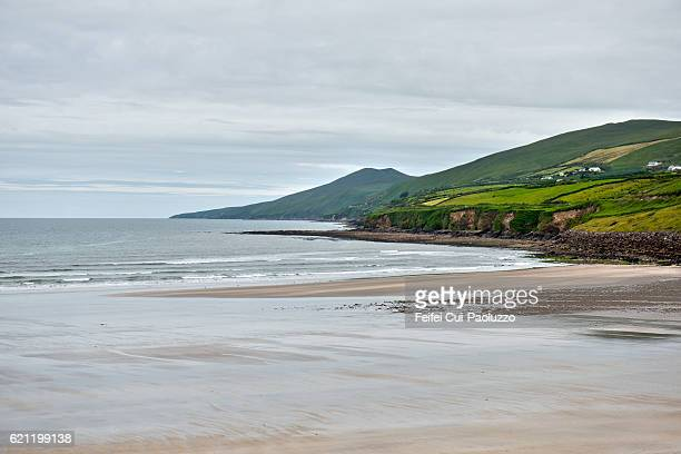 Beach at Inch in Kerry County in Ireland