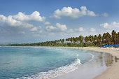 'Beach at Ixtapa, Mexico'