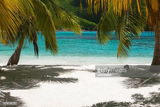 beach at Mosquito Island, British Virgin Islands