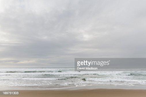 Beach at Oso Flaco Lake State Park : Stock Photo