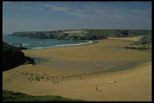 Belle ile en mer stock photos and pictures getty images for Port donnant belle ile